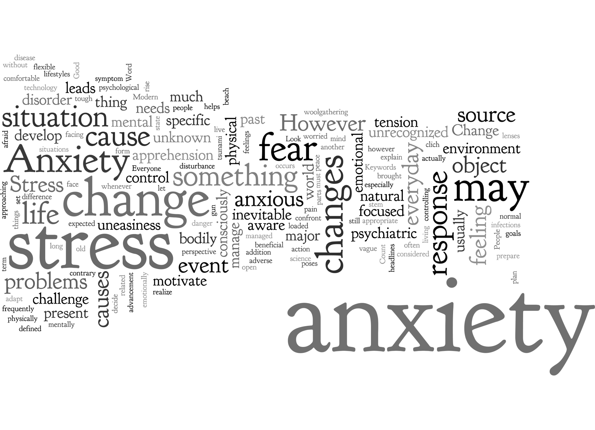 Causes of and ways to overcome anxiety